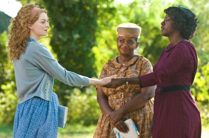 "Emma Stone as ""Skeeter"" in the hit move THE HELP."