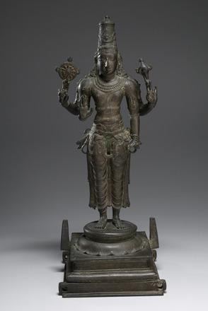 Vishnu, 13th century, India, Chola period (c. 850-1310), bronze. Kimbell Art Museum, Fort Worth
